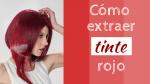 Cómo extraer tinte rojo