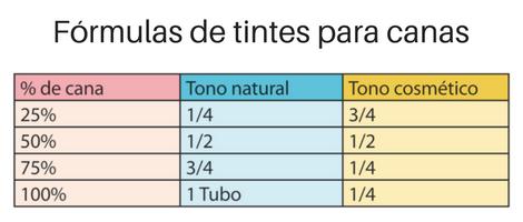 formula tinte canas