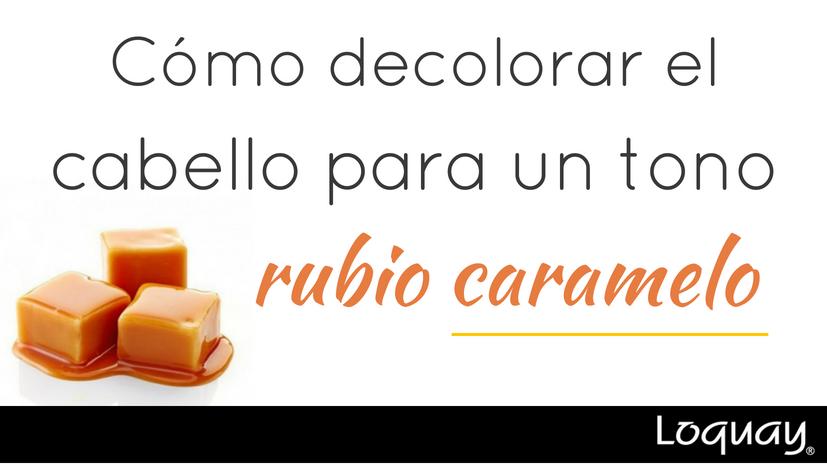 Rubio Caramelo