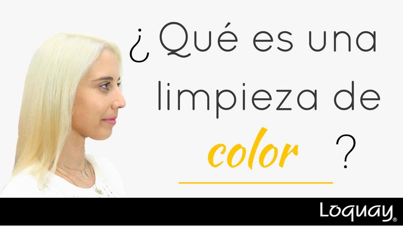 limpieza de color