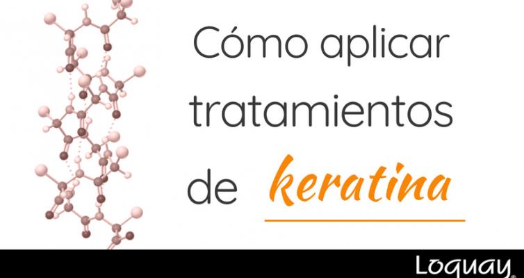 cómo aplicar tratamientos de keratina