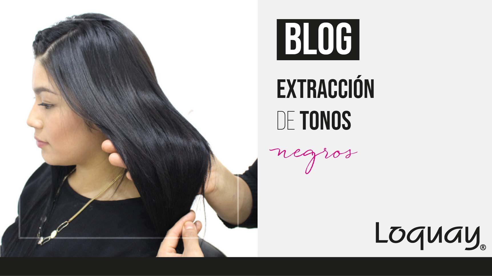 Extracción tonos negros