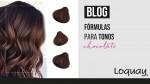 Fórmulas para tonos Chocolate