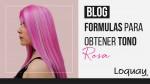 Fórmulas para obtener un tono rosa