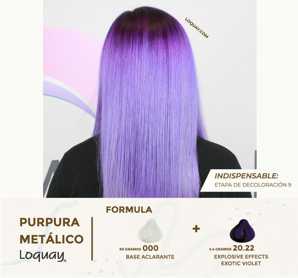 Purpura metalico