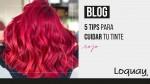 Cuida tu cabello rojo